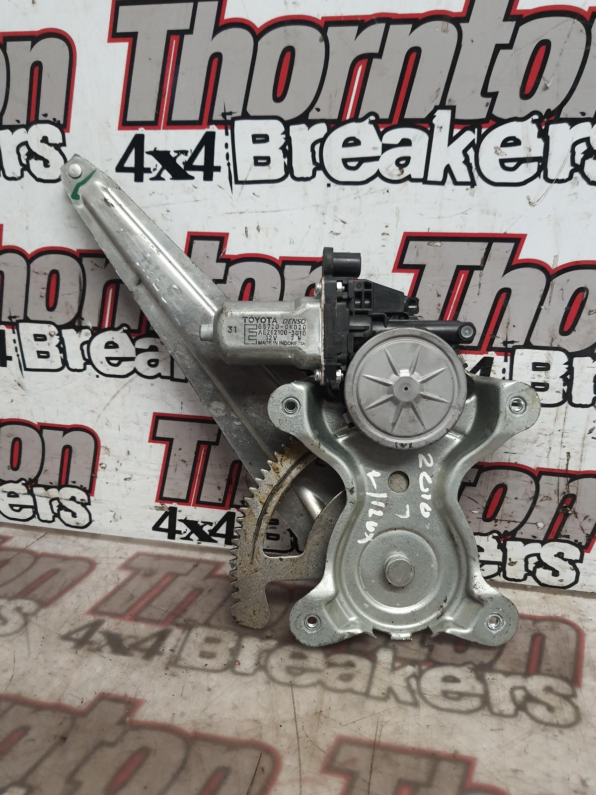 View Auto part RR Window Regulator TOYOTA HILUX 2011