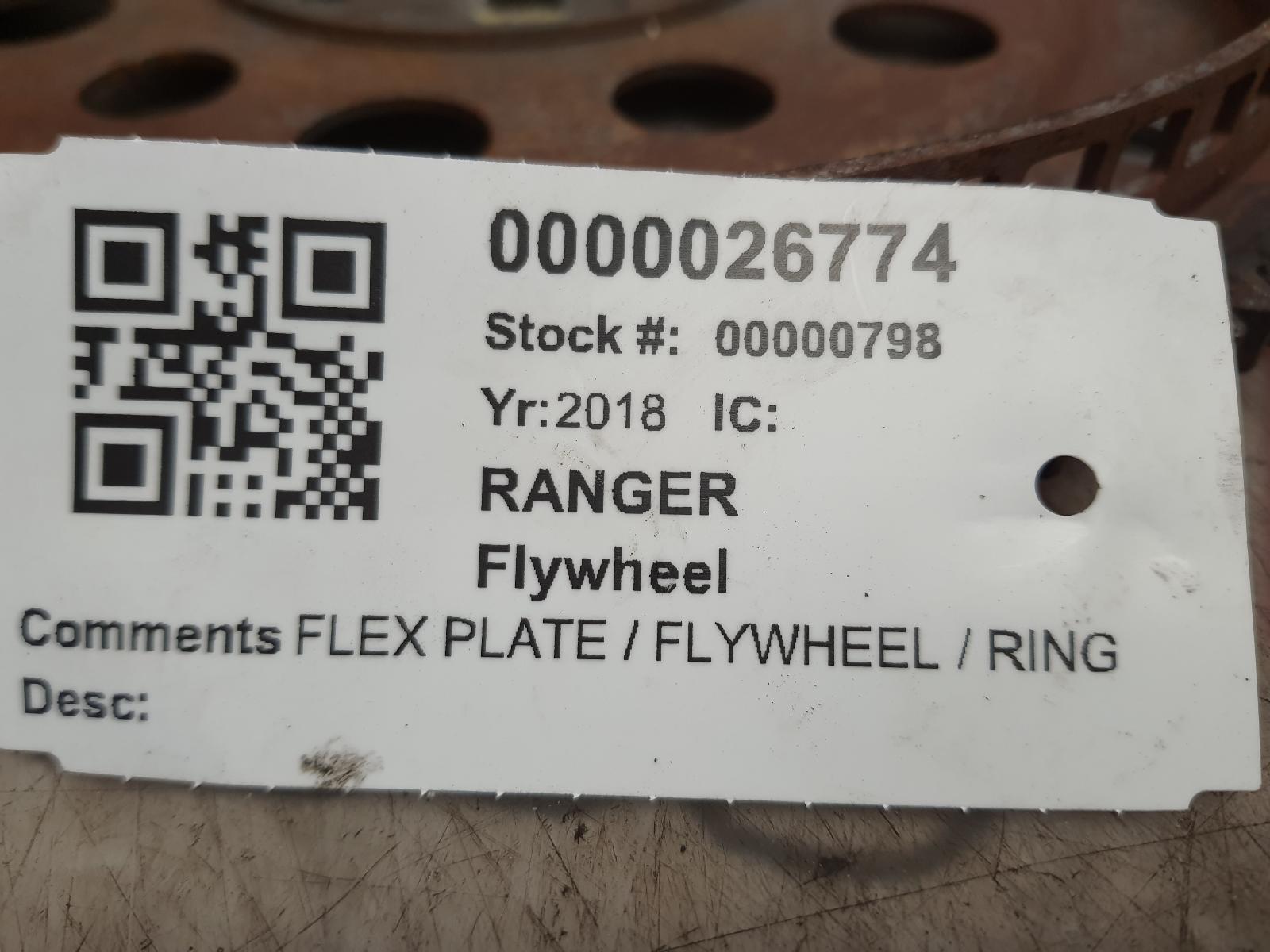 View Auto part Flywheel Flexplate FORD RANGER 2018
