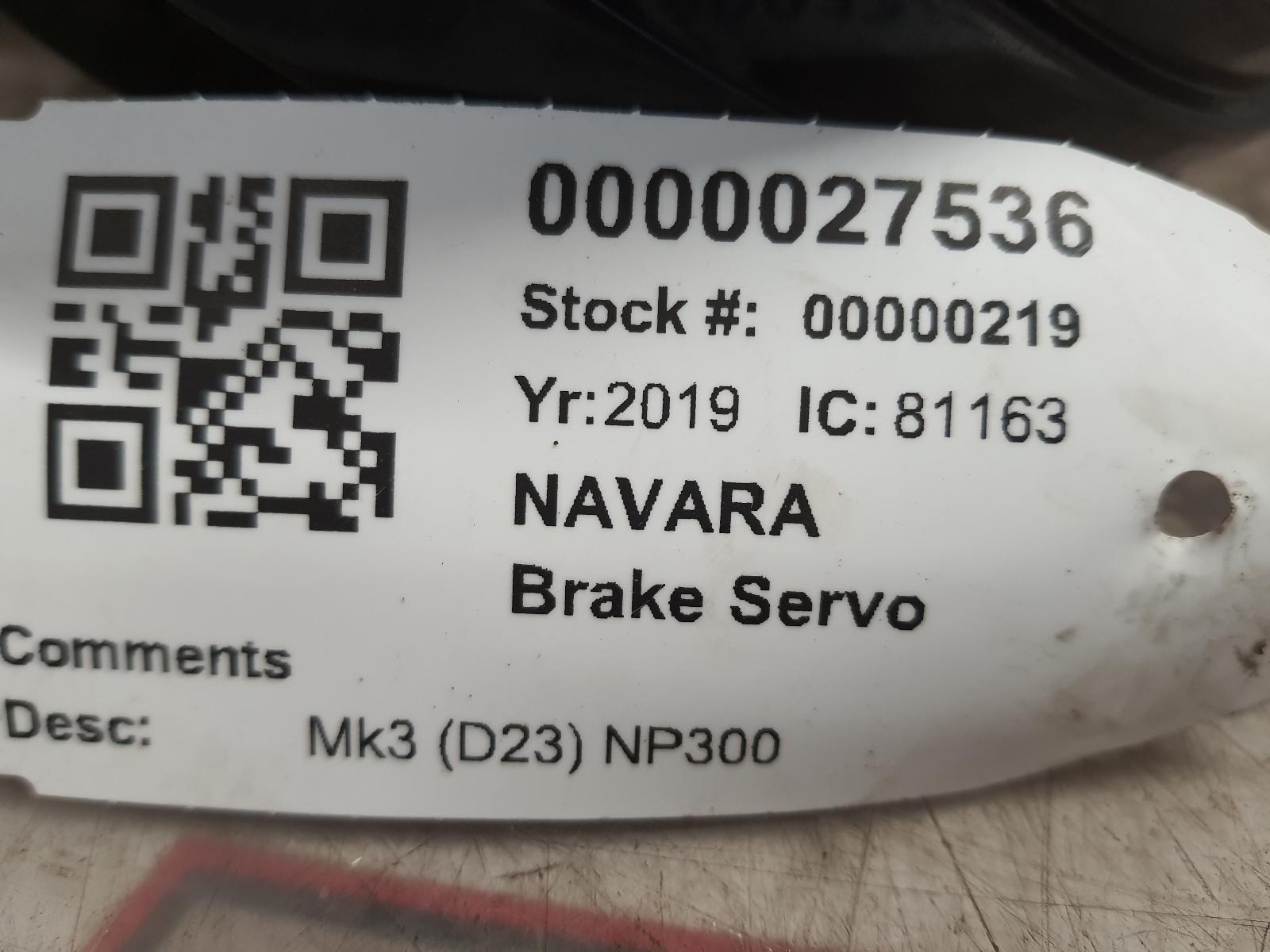 View Auto part Brake Servo NISSAN NAVARA 2019