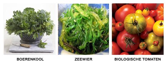 Elke dag verse groente en fruit - belangrijk voor HSP