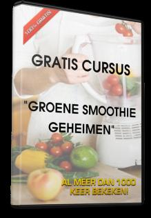 """Gratis online cursus """"Meer energie door groene smoothies maken"""""""