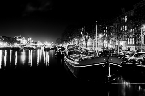 Amstel by night