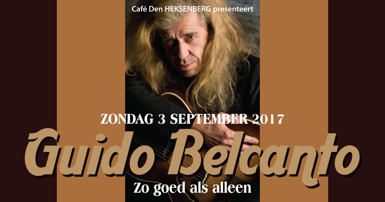 Guido Belcanto in Café Den Heksenberg