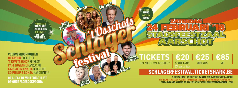 't Osschots Schlagerfestival 2018