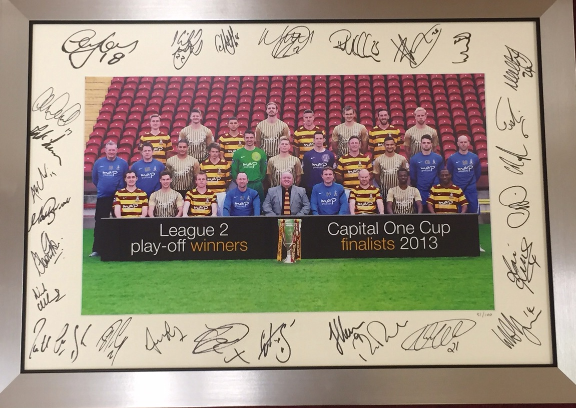 "EXTREMELY RARE SIGNED 2013 ""HISTORY MAKERS"" PHOTO"