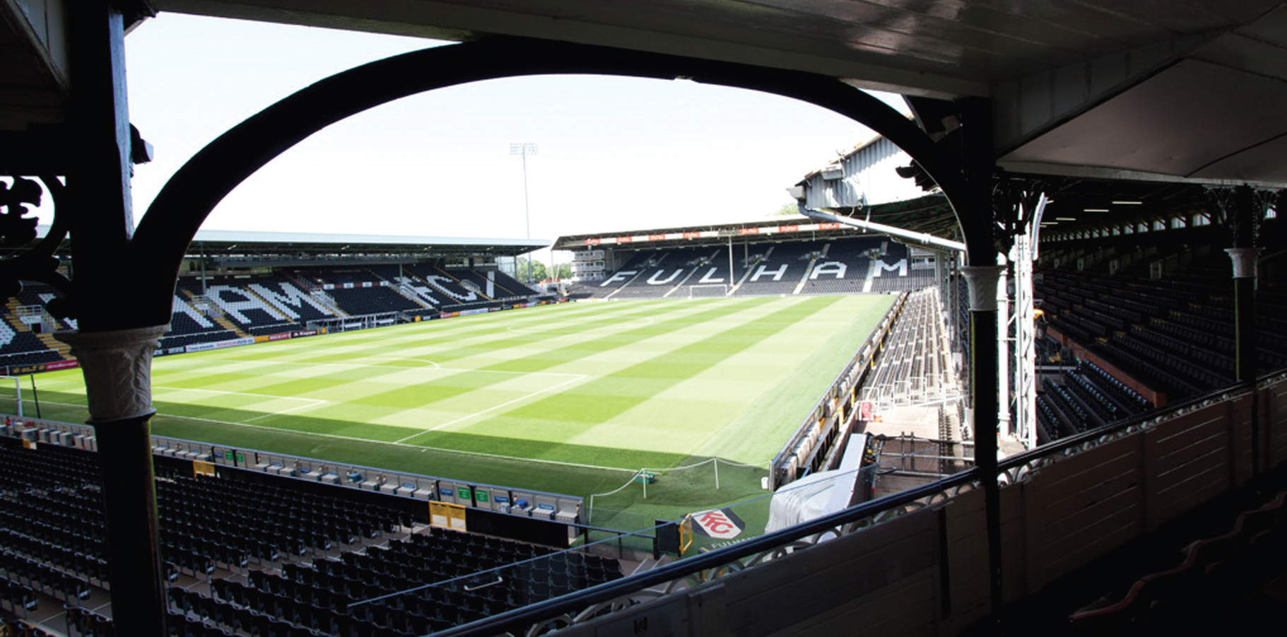 Donated by Captain Scott Parker: TWO TICKETS TO WATCH FULHAM VS MK DONS FROM THE CRAVEN COTTAGE BALCONY