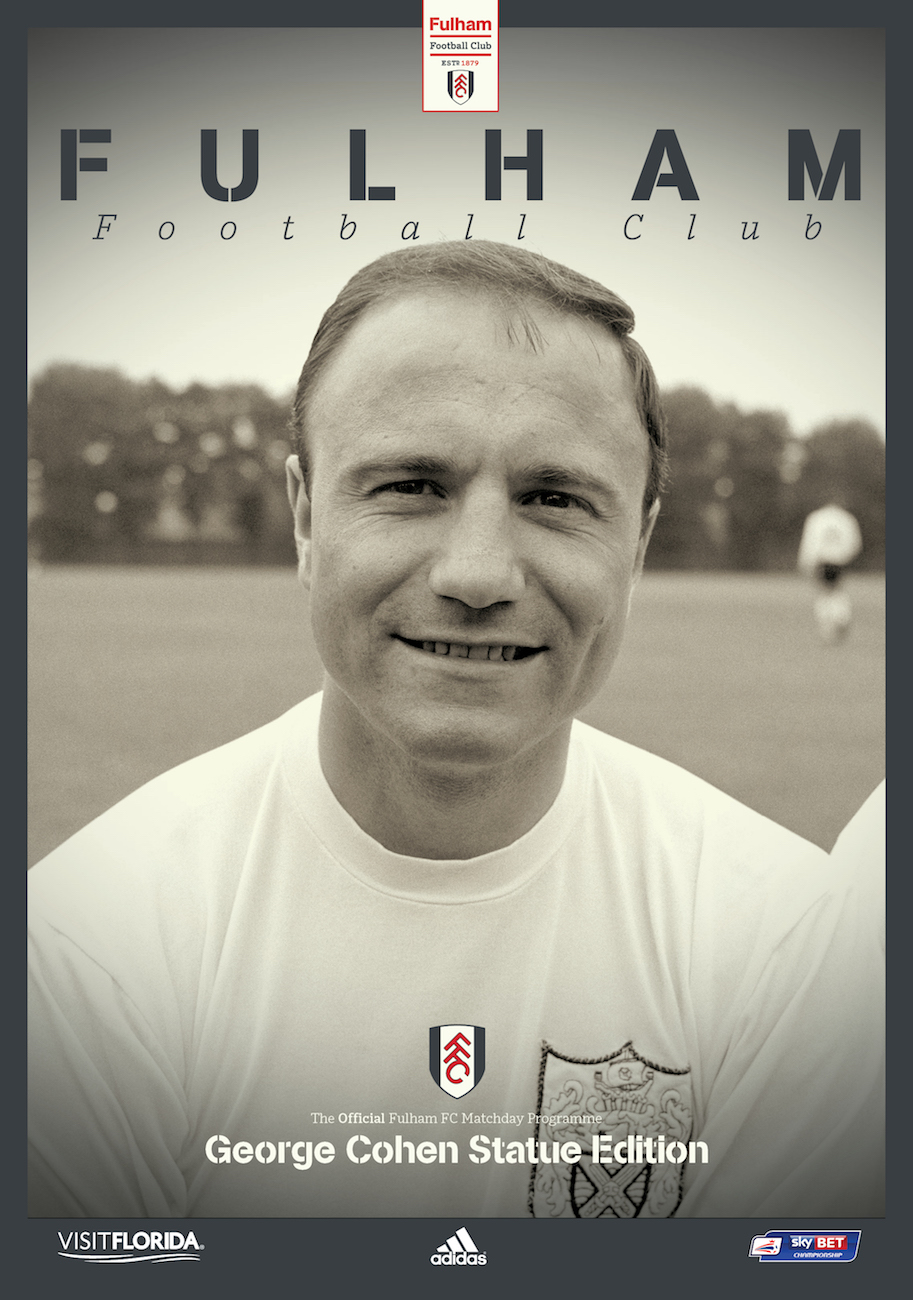 Your Name & Picture in George Cohen Commemorative Matchday Programme