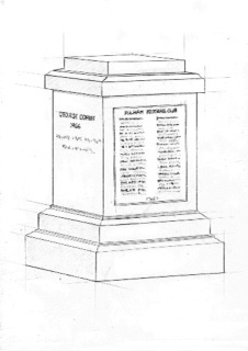 Your name engraved on the George Cohen statue plinth