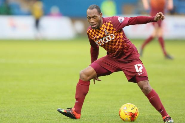 Goalscorer Kyel Reid's shirt from BCAFC's fine win over Burton Albion!