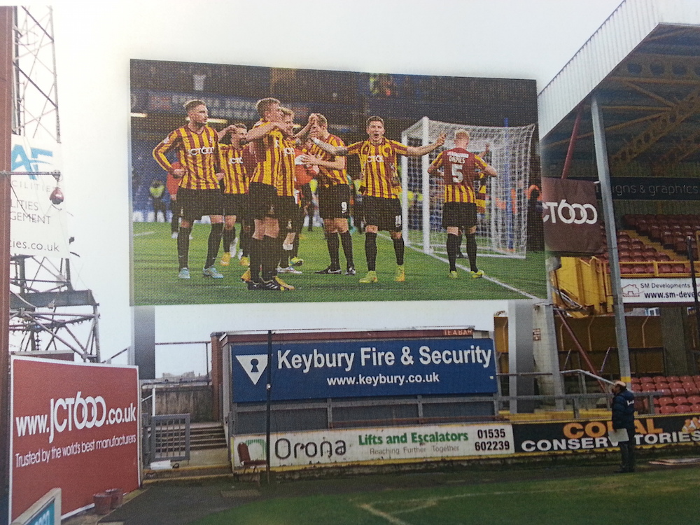 Your business logo & message on Big Screen at its Unveiling + Your logo on the campaign page