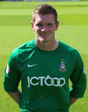 Ben Williams signed goalkeeper's shirt