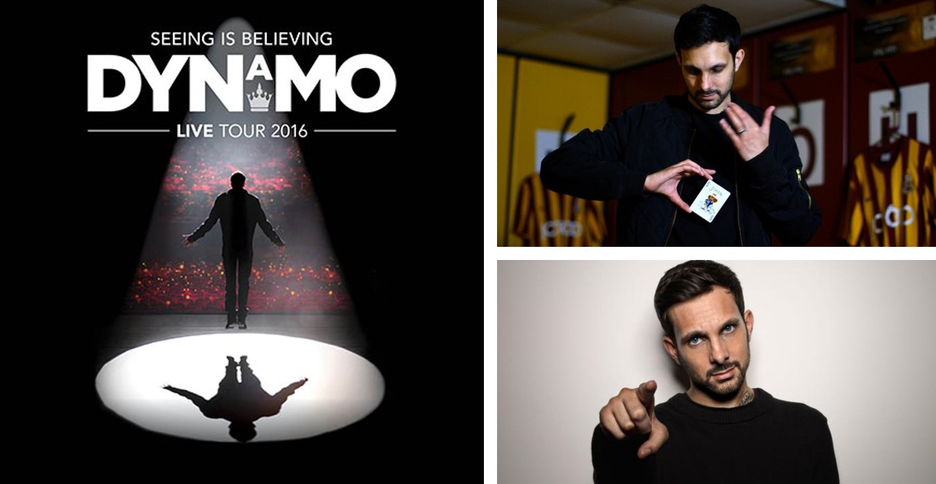 VIP EVENING FOR 2 WITH #BCAFC PLAYERS AT DYNAMO'S LIVE SHOW - AND MEET DYNAMO HIMSELF!