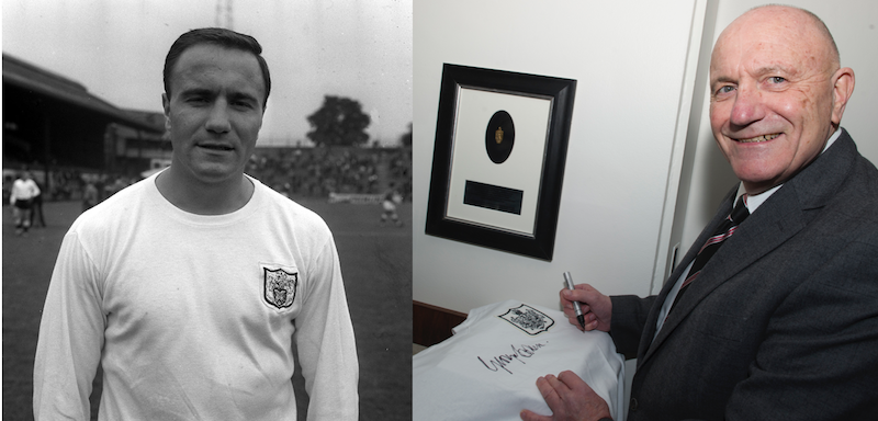 CHANCE TO WIN: Framed Vintage Fulham F.C. jersey signed by George Cohen