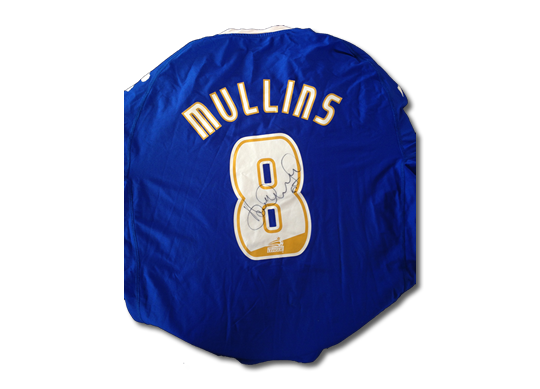 2010/11 Replica Pompey Home Jersey signed by Hayden Mullins