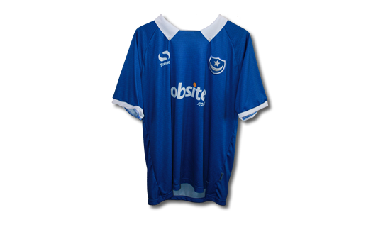 Signed 2014/2015 Pompey Home Jersey