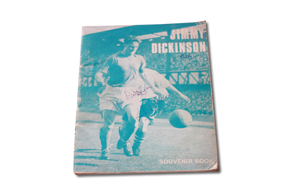Original signed Jimmy Dickinson Souvenir Book