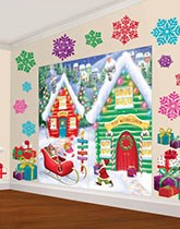 Festive decorations for your Christmas party.