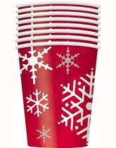 Christmas tableware supplies.
