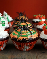 Halloween baking supplies and accessories.