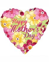 Party supplies, gifts, and decorations for Mother's Day.