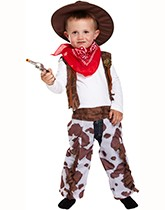 Children's fancy dress costumes with an action & adventure theme.
