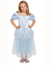 Children's costumes with a fairytale theme.