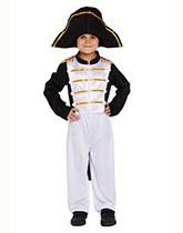 Children's fancy dress costumes with a historical theme.