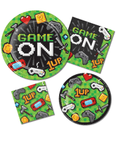 Gaming Party Tableware
