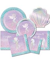 Iridescent Mermaid Partyware