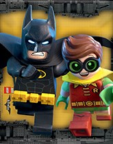 Lego Batman party supplies, balloons and decorations