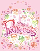 Party supplies and tableware with a Princess Diva theme