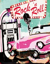 Rock And Roll Tableware & Decorations