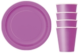 Tableware themed by colour
