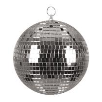 Silver 20cm Disco Ball
