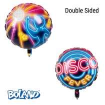 "Disco Fever 2-Sided 18"" Foil Balloon"