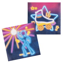 Disco Fever Party Lunch Napkins 12pk