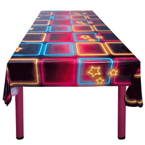 Disco Fever Party Plastic Tablecover