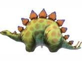 """Stegosaurus Dinosaur 46"""" Foil Balloon"""