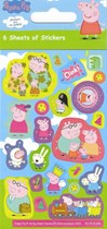 Peppa Pig Stickers 30 Sheets