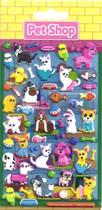 Pet Shop Foam Sticker Set 5pk