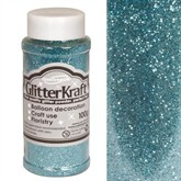 Glitter Kraft Light Blue Powder 100g