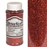 Glitter Kraft Red Powder 100g