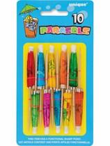 10 Parasol Picks - Assorted Colours