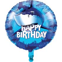 "Shark Splash Party 18"" Foil Balloon"
