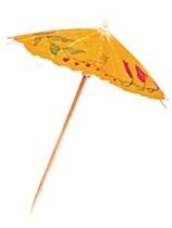 144 Parasol Picks - Assorted Colours