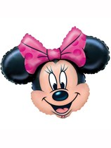 "Minnie Mouse 28"" Supershape Foil Balloon"