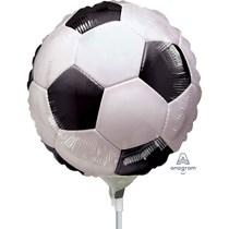 Football Mini Shape Foil Balloon (air fill)