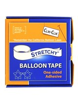 Stretchy One-Sided Balloon Tape 7.6m