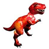 Tyrannosaurus Rex Airwalker Foil Balloon