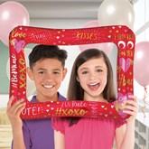 Valentine's Day Inflatable Selfie Frame 40x58cm